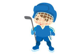 Home free vector icons sports hockey player silhouette vector. Boy Ice Hockey Player With Blank Jersey Svg Cut File By Creative Fabrica Crafts Creative Fabrica