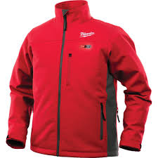 Milwaukee Heated Jacket Light Colors Milwaukee Jacket M12 12v Lithium Ion Heated Front And Back Heat Zones Battery Not Included 3x Large Red