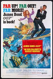 On Her Majesty's Secret Service Movie Poster | 1 Sheet (27x41) Original  Vintage Movie Poster | 3164