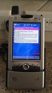 HP iPAQ H6315 PDA Pocket PC Phone ...