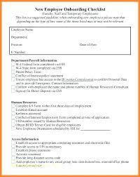 Employee File Checklist Employee Master File Template Luckypos Co