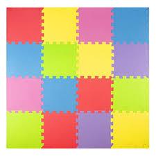 Floor mats for kids Puzzle Piece Floor Foam Play Mats 16 Tiles Borders Safe Kids Puzzle Playmat Non Amazoncom Amazoncom Foam Play Mats 16 Tiles Borders Safe Kids Puzzle