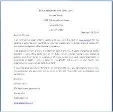 Dental Assistant Resume Cover Letter Michael Carrol Dental Assistant