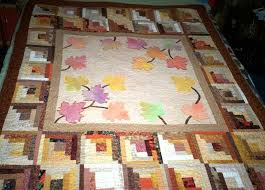 Log Cabin Quilts Photo Gallery and Layout Tips & Fall Days Log Cabin Quilt Adamdwight.com