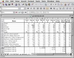 Excel Grade Calculator Template Amherst College It Calculating Grades With Excel