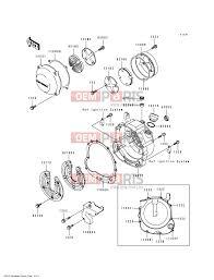 Kawasaki eliminator 600 zl 600 b2 engine cover s epc parts 774153 engine covers engine covers b2 engine diagram b2 engine diagram
