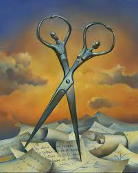 engrossing russia with scissors russian salvador dali art in salvador dali paintings