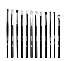 types of eye makeup brushes. jaclyn hill\u0027s favorite brush collection types of eye makeup brushes