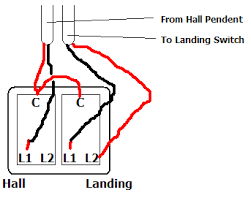 landing light switch wiring diagram landing image 3 gang 2 way light switch wiring diagram wiring diagram on landing light switch wiring diagram