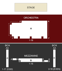 Stage 5 New World Stages New York Ny Seating Chart