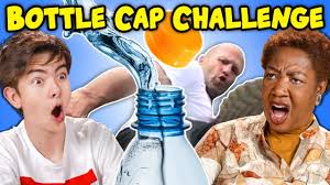 Image result for bottle cap challenge