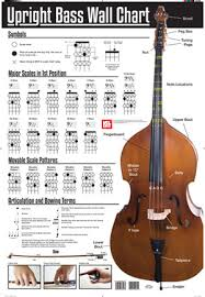 bass scales wall chart upright bass wall chart wall chart mel bay publications