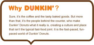 Dunkin Donuts Crew Member Job Listing In Pawtucket Ri 1156958
