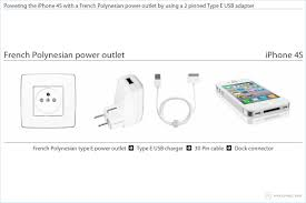charging your iphone 4s in french polynesia Power Outlet Diagram powering the iphone 4s with a french polynesian power outlet by using a 2 pinned type power outlet wiring diagram