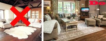 How Big Should A Living Room Rug Be Area Rug For Living Room Net On  Placement . How Big Should ...