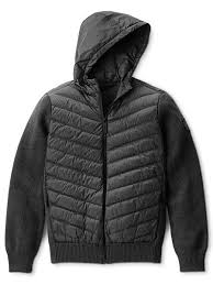 Canada Goose Men s Hybridge Knit Hoody Jacket