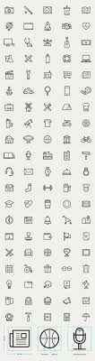 creative furniture icons set flat design. fresh new free outline icon sets for website mockups mobile app user interface and graphic design projects there are icons creative furniture set flat a