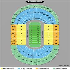 Tennessee Neyland Stadium Seating Chart Map Of Tennessee Football Seating Map Free Download