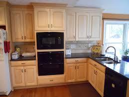 granite countertops maple cabinets