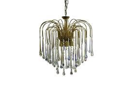 vintage teardrop chandelier vintage brass teardrop chandelier with crystal glass photo vintage teardrop chandelier crystals
