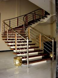 Steel Handrail For Modern Stairs Designs
