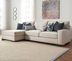Marlo Furniture Living Room Benchcraft Kendleton Modern 2 Piece Sectional With Left Chaise And
