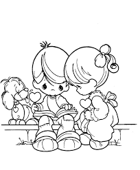 Small Picture Girl And Boy Coloring Pages Coloring Pages Girls And Boys Children