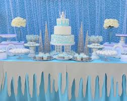 View in gallery Frozen party featured at Kara's Party Ideas