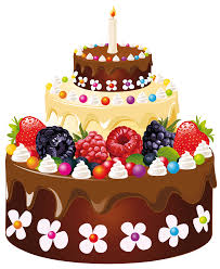 Birthday Cake With Candle Png Clipart Image Gallery Yopriceville