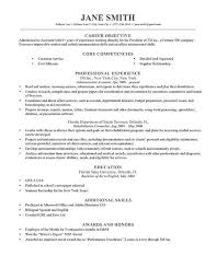 Resume Examples Job Objective Examples Objective Resume