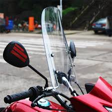 Universal <b>motorcycle windshield scooter windscreen motorcycle</b> ...