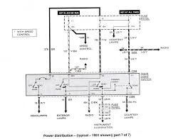 ford ranger & bronco ii electrical diagrams at the ranger station 2007 Ford Ranger Fuse Box Diagram 1991 Ford Ranger Fuse Box Diagram #47