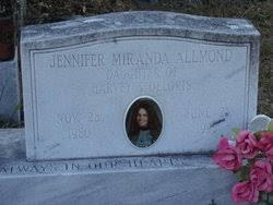 Jennifer Miranda Allmond (1980-1995) - Find A Grave Memorial