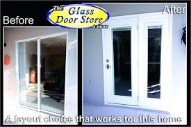 replace sliding glass door with french door best replace sliding glass door french doors french door