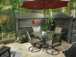 narrow patio ideas