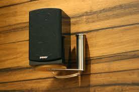 speaker mount cool diy speaker wall mount
