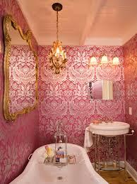 Pink Damask Wallpaper Bedroom Damask Walls Modern Luxury Wallpapers Walls Non Woven Vintage