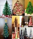 Сделать елку из шишки 28