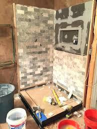 how to waterproof shower walls cker board for shower walls tile boards installation waterproof shower walls