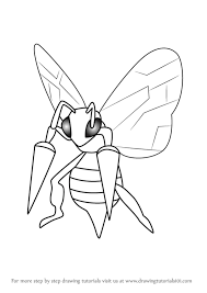 Small Picture Beedrill Pokemon Drawings Step By StepPokemonPrintable Coloring