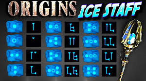 Ice Staff Chart Ice Staff Origins Zombies How To Build And Upgrade Tutorial Ulls Arrow