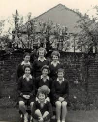 1958 Anne Miles School Netball Team | Hertfordshire, Captains | Our Netball  History