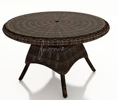 chairs included berkshire wicker 42 round dining table