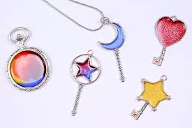 the colored resin looks like stained glass within the pendant they look especially beautiful when the sun shines through the resin how would you use these