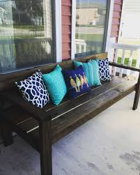 furniture do it yourself. Summer Front Porch Diy Bench Ana White Plans Ideas Of Do It Yourself Patio Furniture