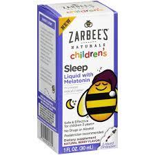 Childrens Sleep Liquid With Melatonin