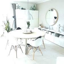 white round dining tables white round table set