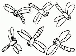 Small Picture Printable Dragonfly Coloring Pages Dragonfly Coloring Page