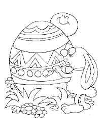 These easter egg coloring sheets are intricately decorated. Free Printable Easter Egg Coloring Pages For Kids