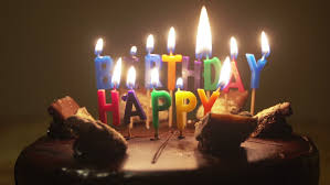 Happy Birthday Candles On Birthday Stock Footage Video 100